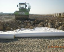 Roadway Geotextile Fabric